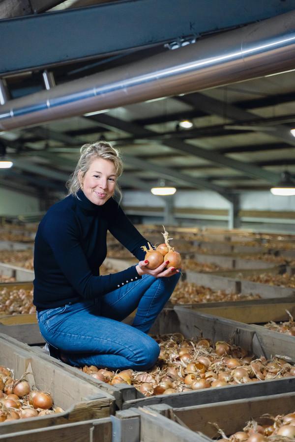 Chayenne Wiskerke, directeur van Wiskerke Onions