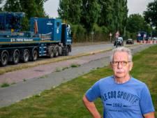 Marathonweg krijgt er honderd vrachtwagens per dag extra bij