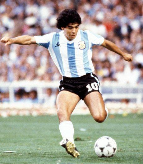 WK-shirt Maradona onder de hamer: dit moet het opleveren