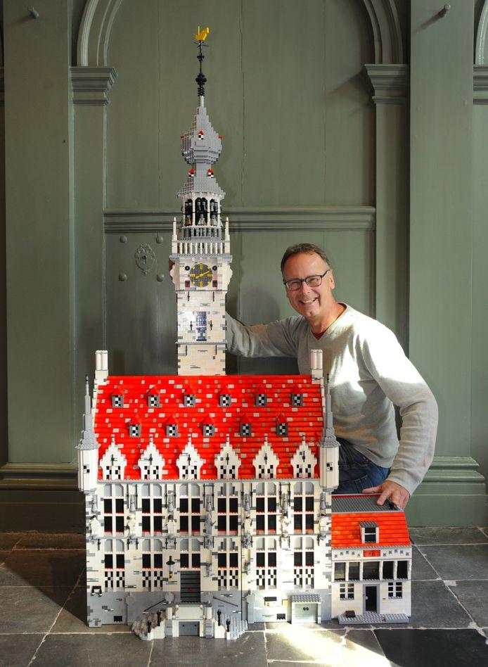 ldm256/08/2018 - Veere - stadhuis van Veere in LEGO - Jeroen Struijs
