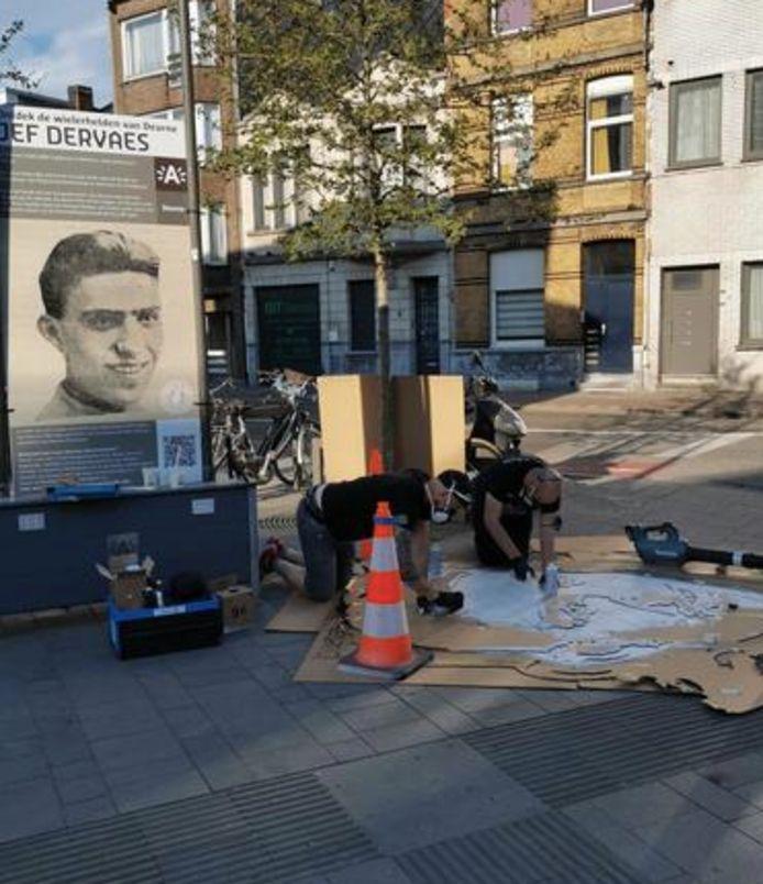 District Deurne brengt ode aan Deurnse wielerhelden met streetart.