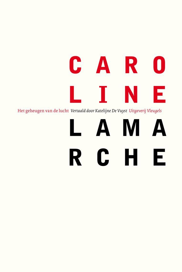 Caroline Lamarche, Het geheugen van de lucht, uitgeverij Vleugels, 76 p., 23,95 euro. Vertaling Katelijne de Vuyst. Beeld rv