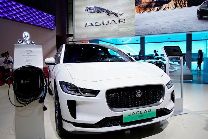 De elektrische Jaguar I-Pace.
