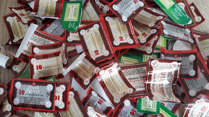 Punten Sparen Douwe Egberts.Al 150 000 Douwe Egberts Punten Voor Voedselbank Van