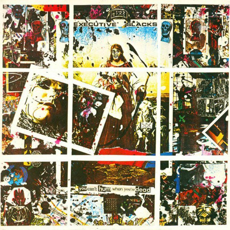 'You Can't Hum When You're Dead' (1984) van Executive Slacks. Beeld Humo