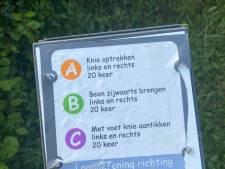 'Puur vandalisme': voor 500 euro schade aangericht aan beweegpark in Molenhoek