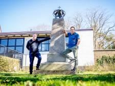 Watersnoodmonument in Alverna heeft zijn kroon terug: nu het parkje nog!