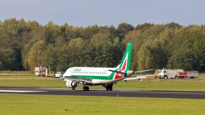 Opnieuw twee vliegtuigen Alitalia geland op Twente Airport