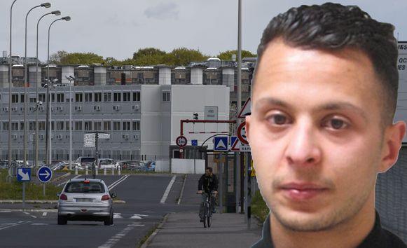 Salah Abdeslam zat eerst in de gevangenis van Brugge. Na een korte tussenstop in Beveren werd hij naar deze gevangenis in Fleury-Mérogis (ten zuiden van Parijs) overgebracht.