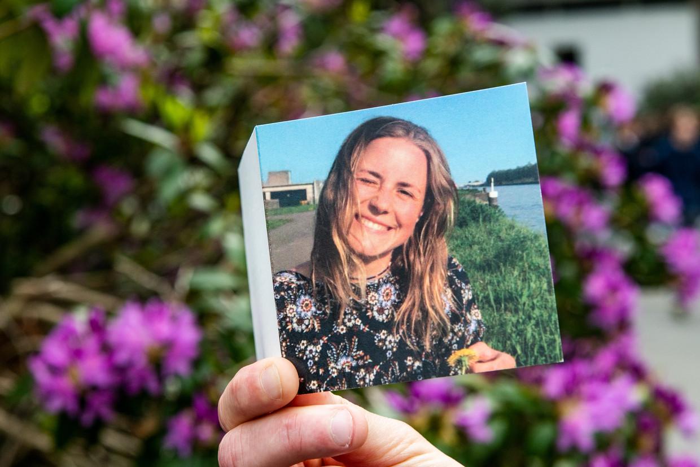 Julie Van Espen werd op 4 mei 2019 vermoord door Steve B. Hij trok haar van haar fiets en probeerde haar te verkrachten. De man was eerder veroordeeld voor verkrachting.  Beeld BELGA