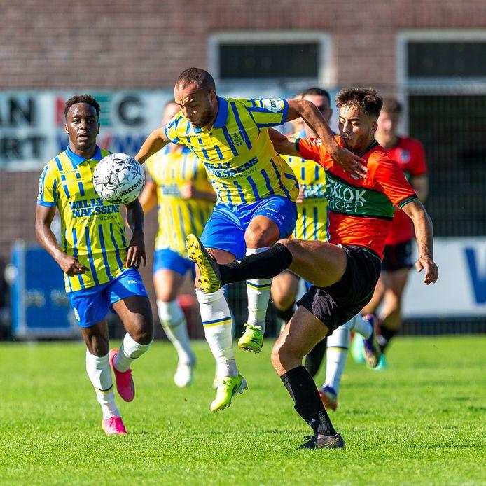 RKC, hier recent tegen NEC, komt voor een duel met Roda JC naar Burgh-Haamstede.
