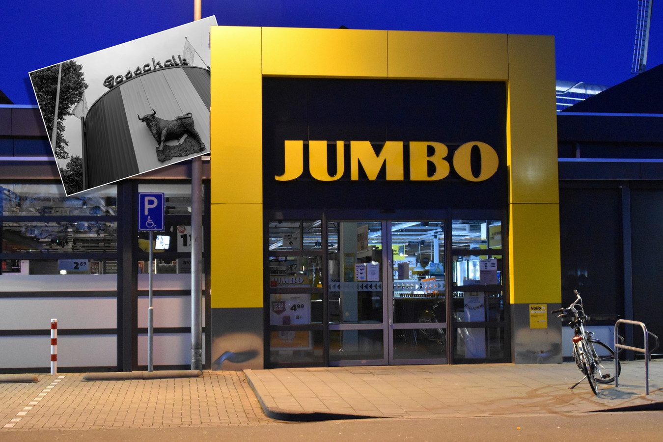 Jumbo heeft de samenwerking met Gosschalk voorlopig stopgezet.