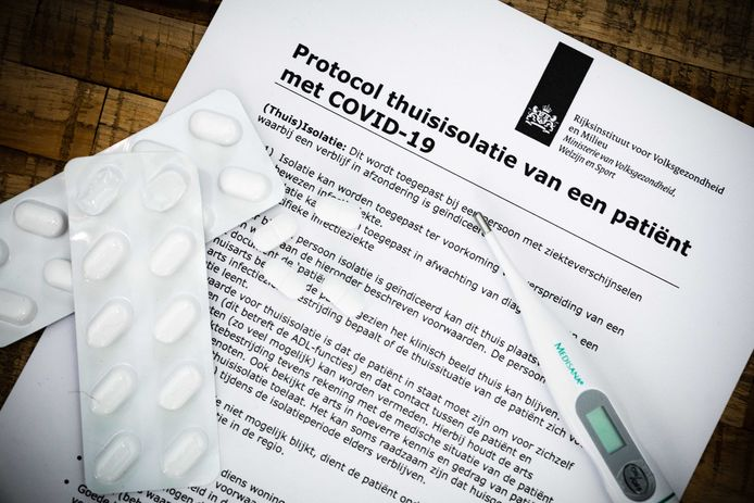 Het protocol voor thuisisolatie van patiënten besmet met het coronavirus.