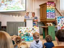Kunstenmakertrofee uitgereikt aan zeer jonge kunstenaars in Holten