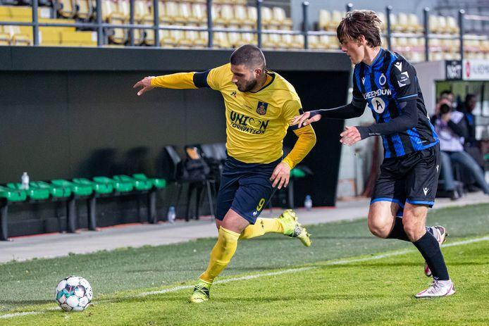"""Deniz Undav (l.): """"We wonnen tot dusver al drie keer op drie wedstrijden van hen en dat zal vier op vier worden."""""""