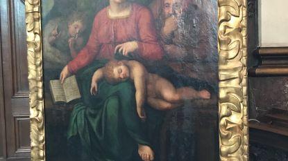Zoektocht naar gestolen schilderij uit Sint-Ludgeruskerk in Zele stopgezet