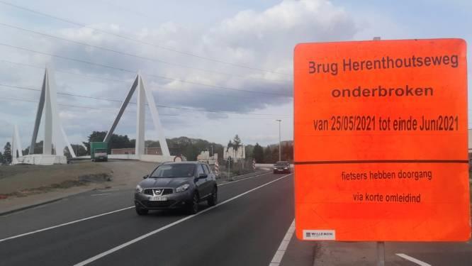 Brug Herenthoutseweg een maand afgesloten voor gemotoriseerd verkeer