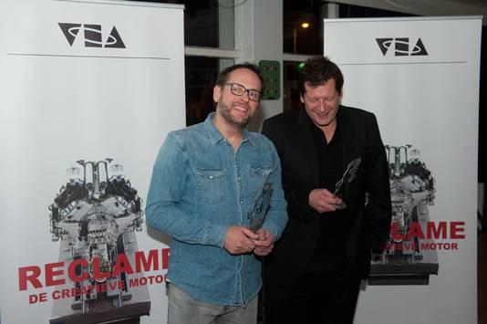 Het zal niet de eerste prijs zijn die de reclamekoningen winnen. Vorig jaar werden Diederick Koopal en Cor den Boer benoemd tot VEA-Legends.