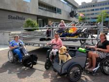 Tijdelijke hellingbaan bij Eindhovens Stadhuis wordt aangepast, definitieve oplossing kan nog anderhalf jaar duren