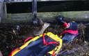 Duikers van de brandweer redden een ree uit de Zuid-Willemsvaart in Den Bosch. De reddingsactie  vond plaats midden in het centrum van de stad, bij Sluis 0. Het ree werd na de reddingsactie door medewerkers van de dierenambulance in Den Bosch weer uitgezet in het bos.