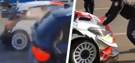 """Crash avant une spéciale, la police arrive, Ogier part: """"Son comportement ne peut être accepté"""""""