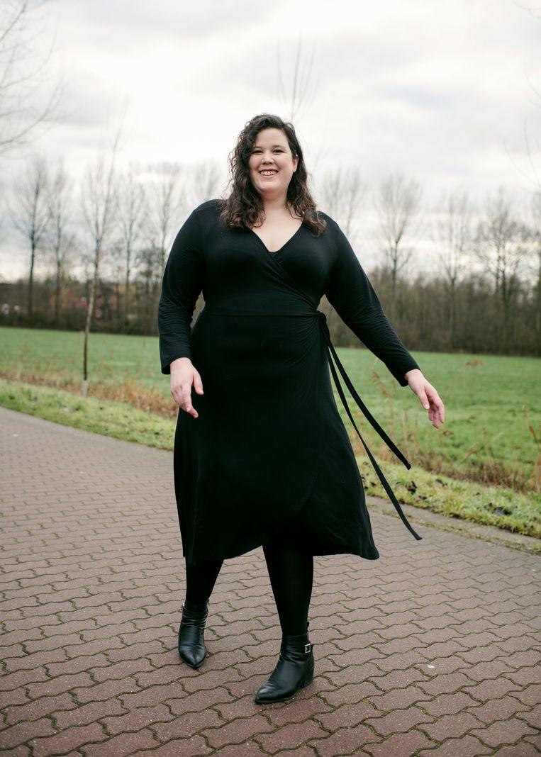 """Marianne Nykjaer: """"Het is niet het einde van de wereld om dik te zijn. Ook dikke mensen hebben een carrière, een seksleven, een vriendengroep."""" Beeld Tim Coppens"""