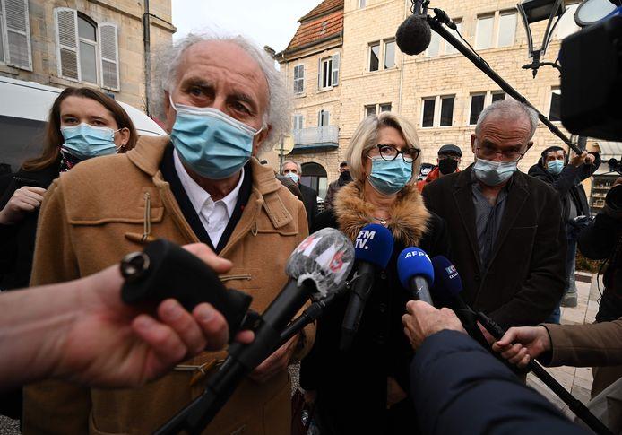 Gilles-Jean Portejoie, l'avocat des parents d'Alexia Daval, Isabelle et Jean-Pierre Fouillot