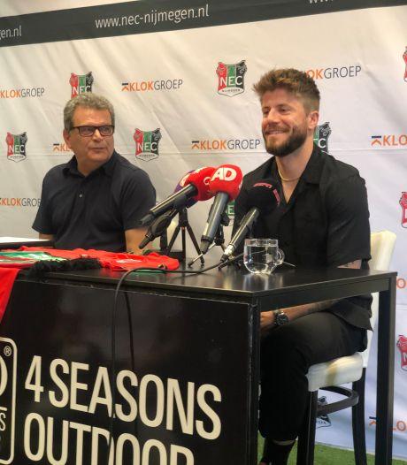 Lasse Schöne ondertekent contract en is terug in Nijmegen