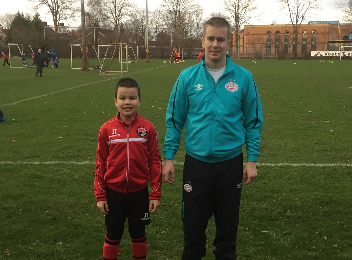 Peter en Jens Taks bij Alliance.