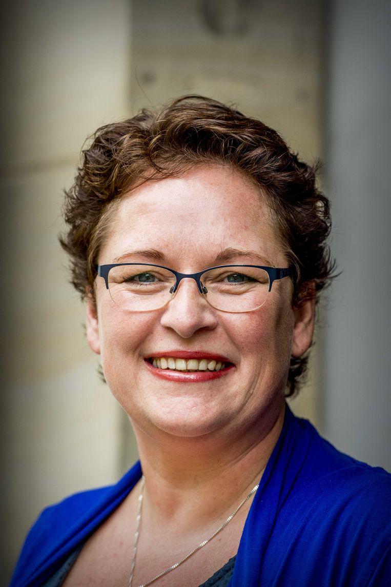 Nelleke Vedelaar, wethouder uit Zwolle, wil graag PvdA-voorzitter worden. Beeld ANP