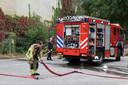 Brandweer bij Droomvlucht in de Efteling.