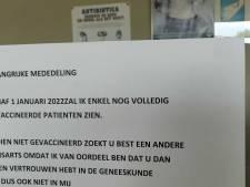 Un médecin généraliste d'Anvers va refuser les patients non vaccinés