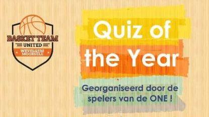 Basketteam organiseert tweede 'Quiz of the Year'