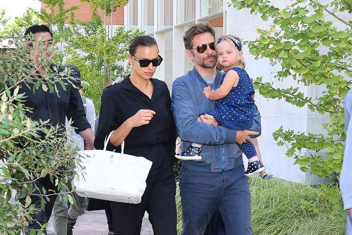 Bradley Cooper, Irina Shayk en hun dochter Lea