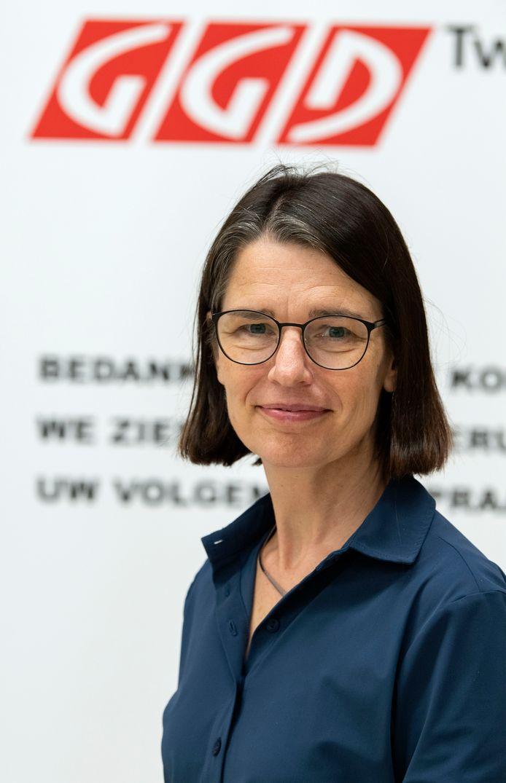 Projectleider vaccineren Marleen van der Wal van de GGD Twente.