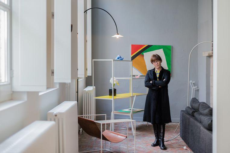 Veerle Wenes, oprichter van Valerie Traan Gallery: 'Prachtig tijdsdocument.' Beeld Bart Kiggen