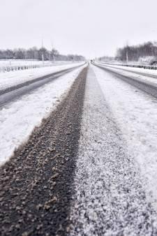 KNMI waarschuwt voor gladde wegen in Gelderland