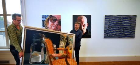 Bedrieglijk echte schilderijen in het Gorcums Museum