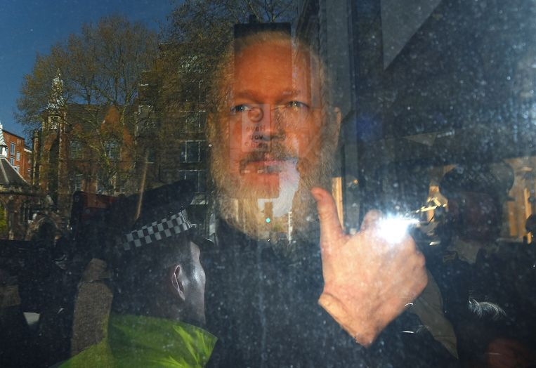 Julian Assange. Beeld EPA