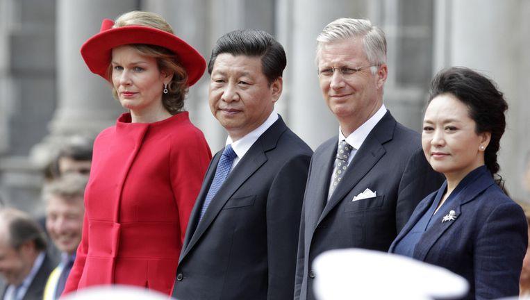 Xi Jinping, hier op staatsbezoek in België, beloofde al meermaals iets aan de kwestie te doen. Beeld AP