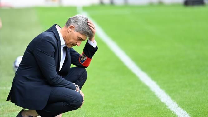 """Union geeft tegen Antwerp alles na de rust uit handen. Trainer Felice Mazzu: """"We moeten hier lessen uit trekken en kalm blijven"""""""