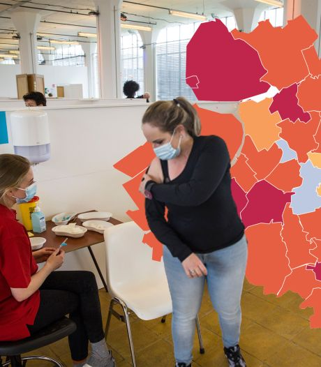 KAART | Coronacijfers schieten omhoog in Gelderland en Flevoland na ICT-storing afgelopen weekeinde