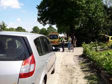 Fietser komt lelijk ten val in Groesbeek