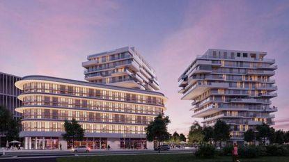 Groen licht voor bouw Parkhotel en Twin Towers
