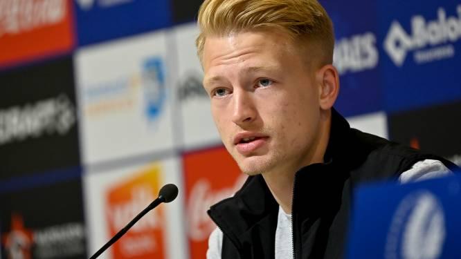 """Hanche-Olsen na slechte start AA Gent: """"Dit moeten we snel rechtzetten"""""""