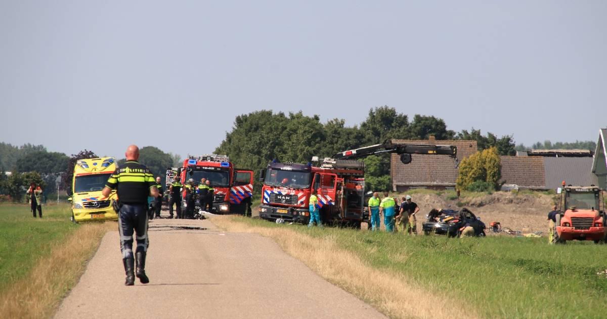 Dode en twee gewonden bij ongeluk in Zeewolde.