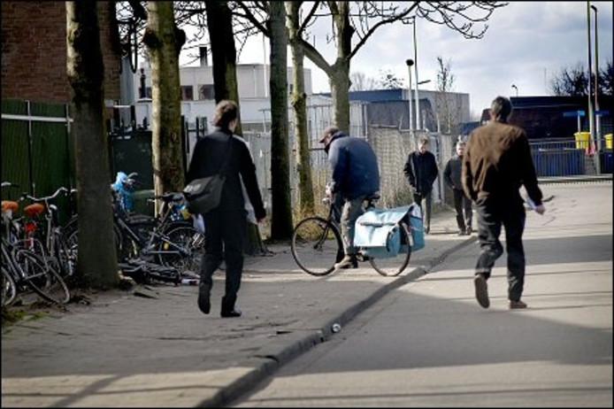 Daklozenopvang 't IJ aan de Slingerweg in Breda.