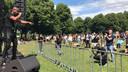 Demonstratie BLM in Den Bosch.