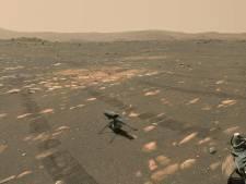 Eerste test met Marshelikopter maakt NASA bloednerveus