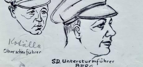 Van toiletbezoek tot beul Kotalla: 'unieke tekeningen' opgedoken van verzetsman in Kamp Amersfoort